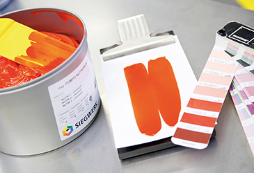 Printing inks for food packaging